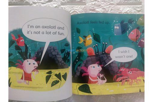 Axolotl Finds a Bottle- Usborne Phonics Readers (1)