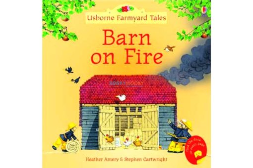 Barn On Fire Farmyard Tales Stories Mini Editions 9780746063200 cover
