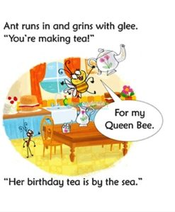 Bee Makes Tea- Usborne Phonics Readers (4)