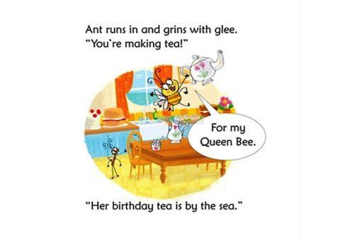 Bee Makes Tea- Usborne Phonics Readers (4)