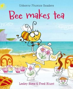 Bee Makes Tea- Usborne Phonics Readers cover