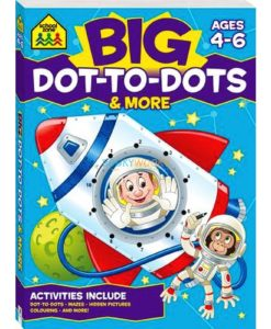 Big Dot to Dots & More {School Zone} 9781488908866 cover