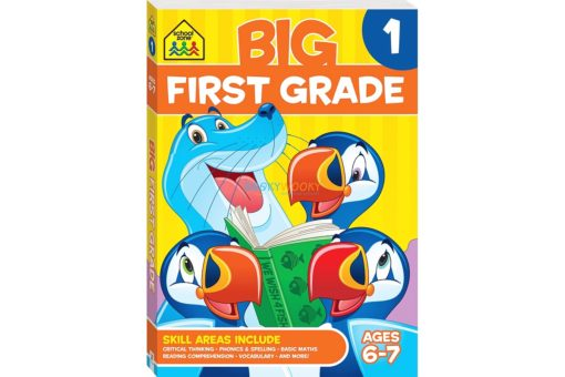 Big First Grade {School Zone} 9781488908620 cover