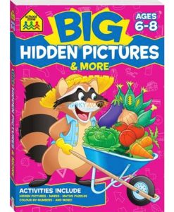 Big Hidden Pictures & More {School Zone} 9781488908927 cover