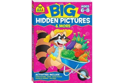 Big Hidden Pictures & More {School Zone} 9781488908927 cover