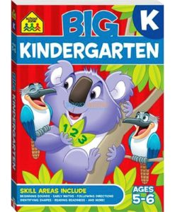 Big Kindergarten {School Zone} 9781488908682 cover
