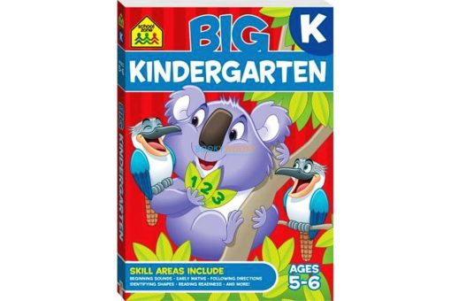 Big Kindergarten {School Zone} 9781488908682 cover