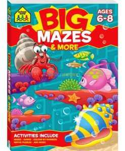 Big Mazes & More {School Zone} 9781488908804 cover