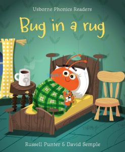 Bug in a Rug- Usborne Phonics Readers 9781409580430 cover