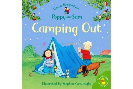 CAMPING OUT Farmyard Tales Stories Mini Editions 9780746063187 cover