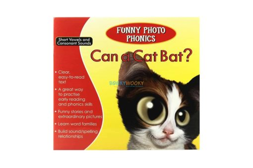 Can a Cat Bat- Funny Photo Phonics 9789350493175 cover