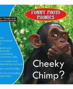 Cheeky Chimp- Funny Photo Phonics 9789350493304 cover