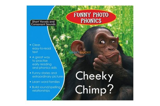 Cheeky Chimp- Funny Photo Phonics 9789350493304 cover