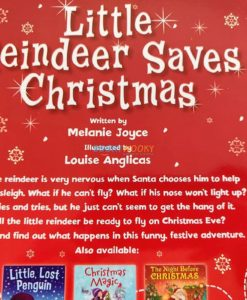 Christmas Paperback Storybooks 3 Titles - Little Reindeer Saves Christmas 4