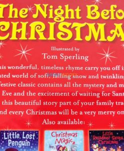 Christmas Paperback Storybooks 3 Titles - The Night Before Christmas 5