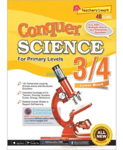 Conquer Science for Primary Levels 3-4 9789814640701 (1)