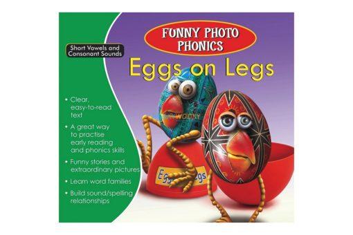 Eggs on Legs- Funny Photo Phonics 9789350493243 cover