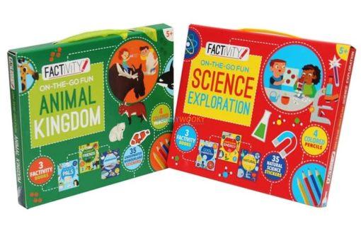 Factivity On The Go Fun - Animal Kingdom 4