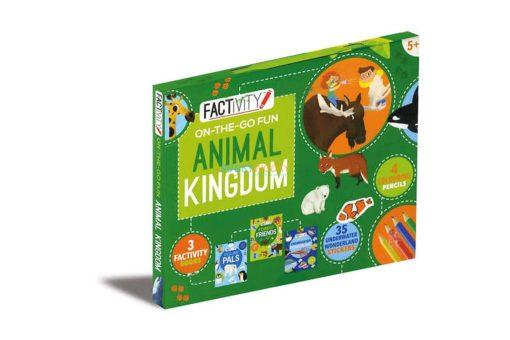 Factivity On The Go Fun - Animal Kingdom 978-1474851848 cover