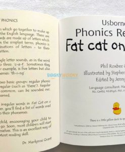Fat Cat on a Mat- Usborne Phonics Readers (1)