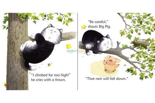 Fat Cat on a Mat- Usborne Phonics Readers 2