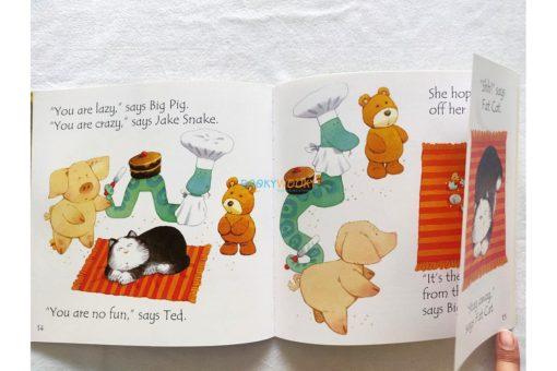 Fat Cat on a Mat- Usborne Phonics Readers (5)