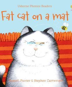 Fat Cat on a Mat- Usborne Phonics Readers 9780746077191 cover