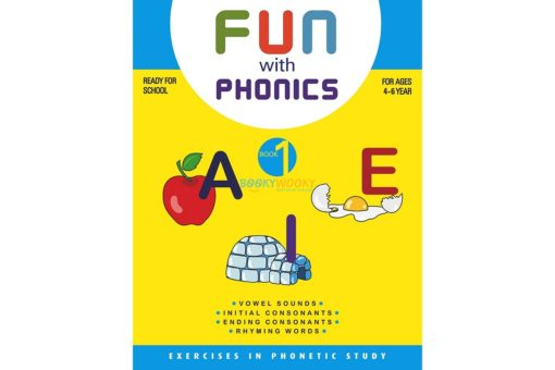 Fun with phonics Book 1 9788179630075 cover