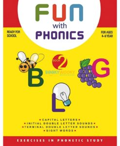 Fun with phonics Book 2 9788179630082 cover