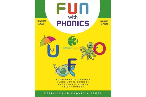 Fun with phonics Book 3 9788179630099 cover