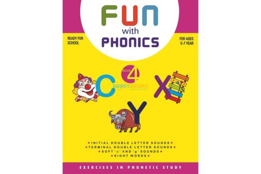 Fun with phonics Book 4 9788179630105 cover