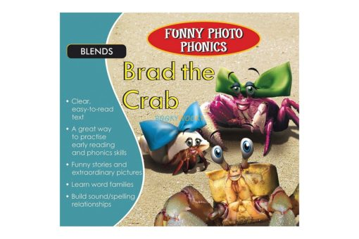 Funny Photo Phonics Brad the Crab 9789350493465 (1)