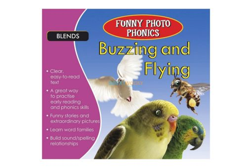 Funny Photo Phonics Buzzing and Flying 9789350493403 (1)