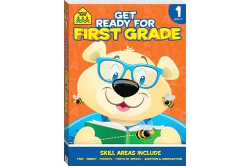 Get Ready for First Grade {School Zone} 9781488912870 cover