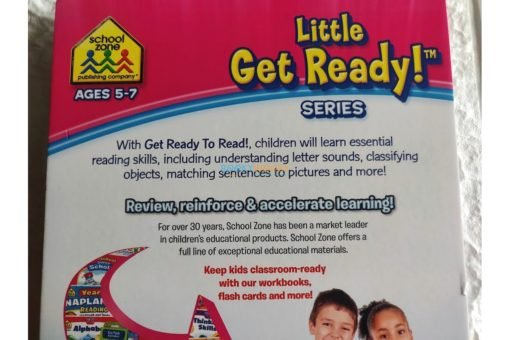 Get Ready to Read A Little Get Ready {School Zone} 7