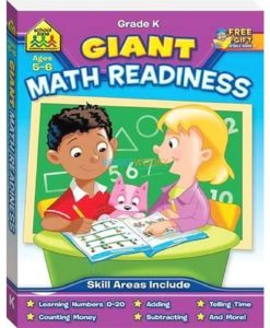 Giant Maths Readiness {School Zone} 9781743678510 cover
