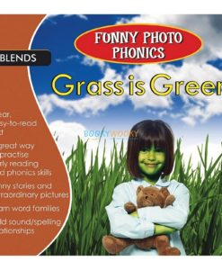 Grass is Green- Funny Photo Phonics 9789350493335 cover