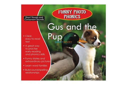 Gus and the Pup- Funny Photo Phonics 9789350493212 cover