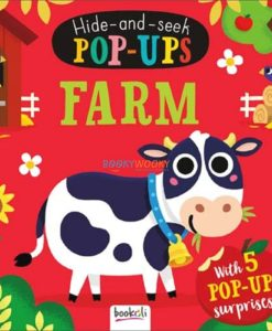 Hide and Seek Pop Ups Farm cover