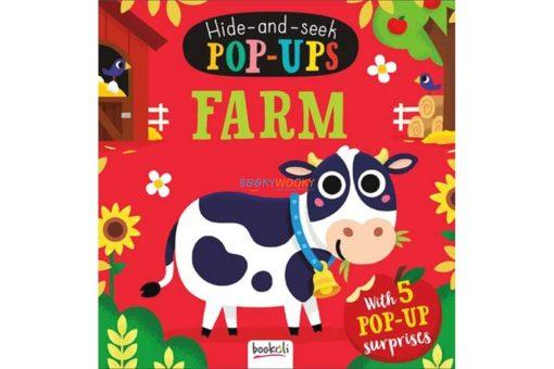 Hide and Seek Pop Ups Farm cover