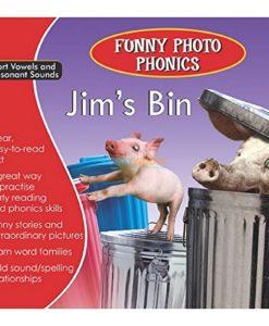 Jim's Bin- Funny Photo Phonics 9789350493205 cover