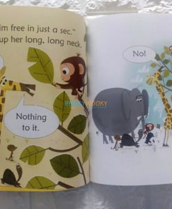Kangaroo at the Zoo- Usborne Phonics Readers (2)