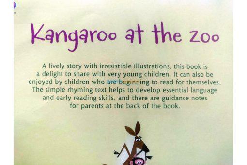 Kangaroo at the Zoo- Usborne Phonics Readers (4)