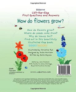 Lift the Flap First Questions and Answers- How Do Flowers Grow back