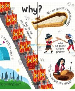 Lift-the-Flap Questions & Answers about Long Ago (3)