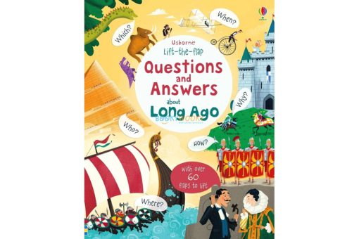Lift-the-Flap Questions & Answers about Long Ago 9781474933797 (1)