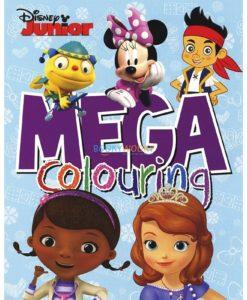 Mega Colouring Disney Junior 9781474812405 (1)