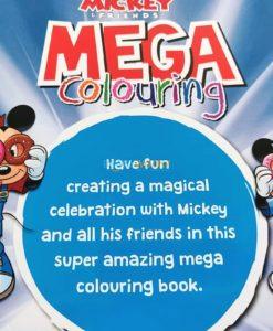Mega Colouring Disney Mickey and Friends (3)