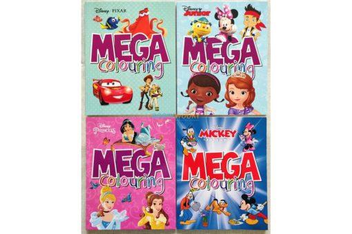 Mega Colouring Disney Mickey and Friends (4)