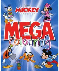 Mega Colouring Disney Mickey and Friends 9789389290028 (1)
